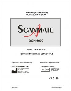 Scanmate A Operators Manual