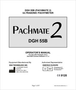 Pachmate 2 Operators Manual