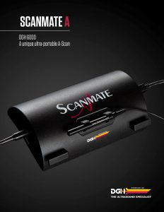 Scanmate A Brochure Cover